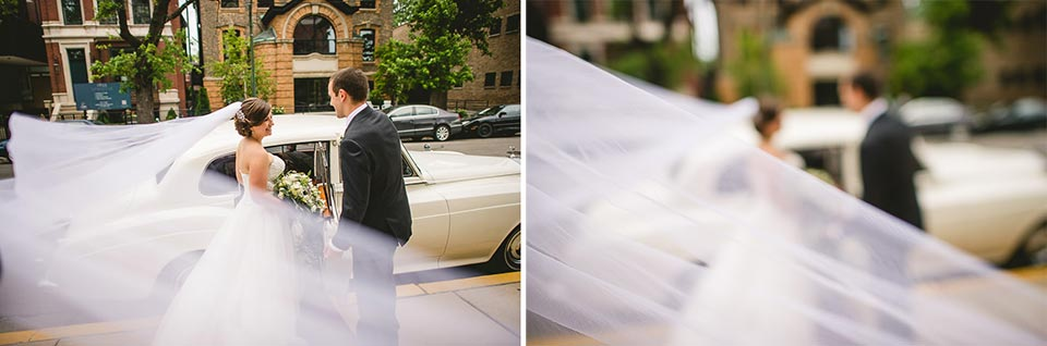 43 bride and her rolls - Harold Washington Library Wedding Photos // Kasia + Chris
