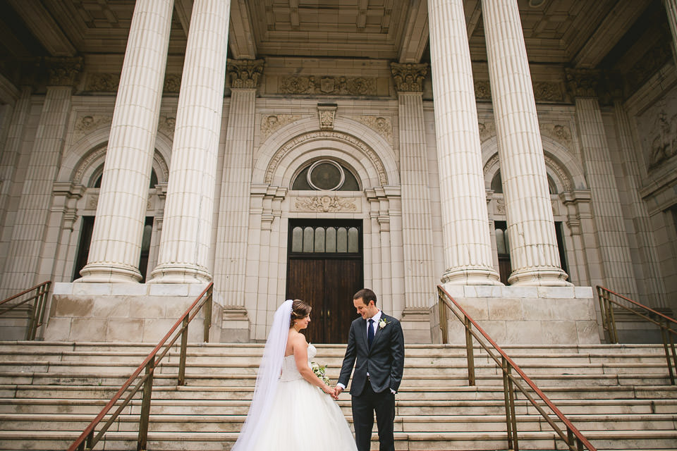 45 chicago wedding photographer - Harold Washington Library Wedding Photos // Kasia + Chris