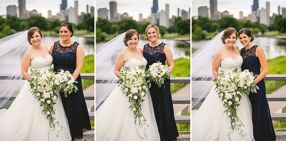 47 bridal party pics in chicago - Harold Washington Library Wedding Photos // Kasia + Chris
