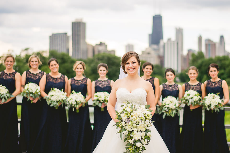 48 bridal party inspo - Harold Washington Library Wedding Photos // Kasia + Chris