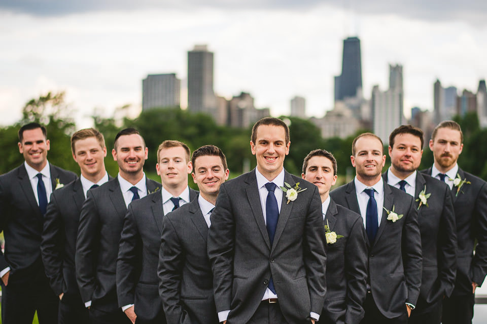 51 groomsmen inspo - Harold Washington Library Wedding Photos // Kasia + Chris