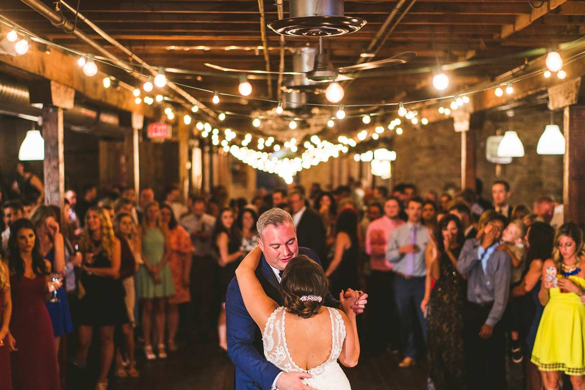 52 first dance at haight wedding - Cantigny Wedding Photos