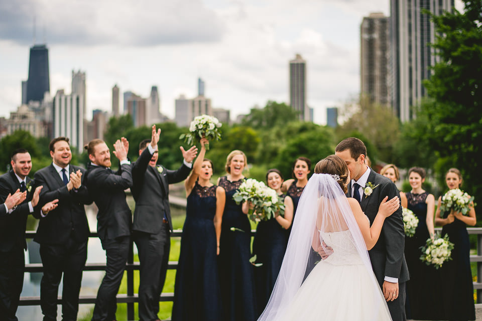 54 wedding photography in chicago - Harold Washington Library Wedding Photos // Kasia + Chris