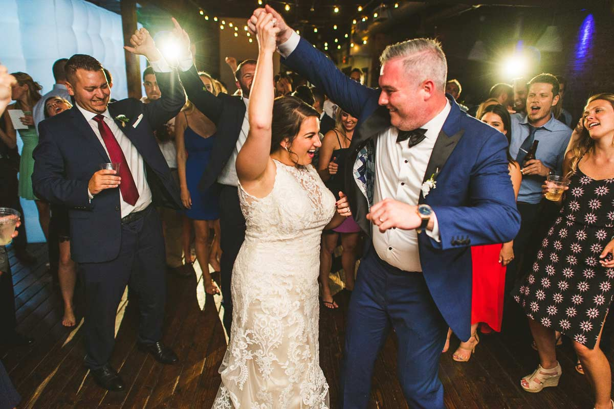 67 bride and groom dancing at the haight in elgin - Cantigny Wedding Photos