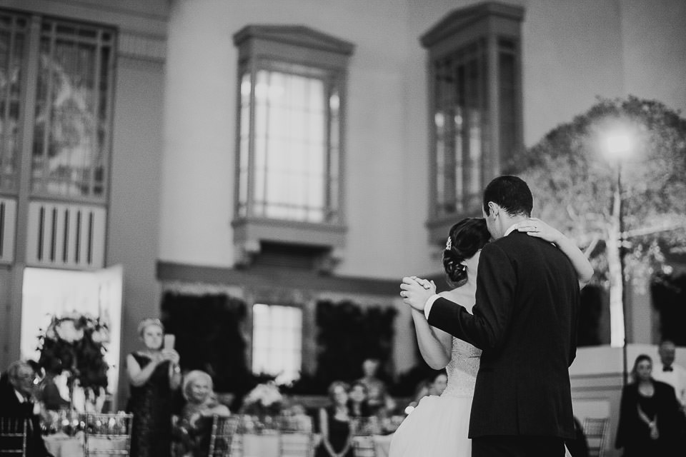 85 first dance at harold washington library wedding  - Harold Washington Library Wedding Photos // Kasia + Chris