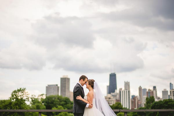 Harold Washington Library Wedding Photos // Kasia + Chris