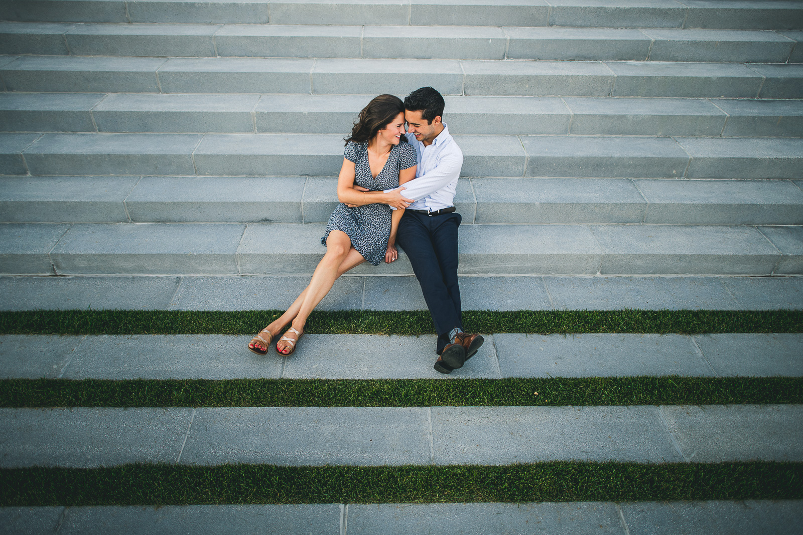 03 fun northwestern engagement photography - Northwestern Engagement Photos // Emma + Francesco