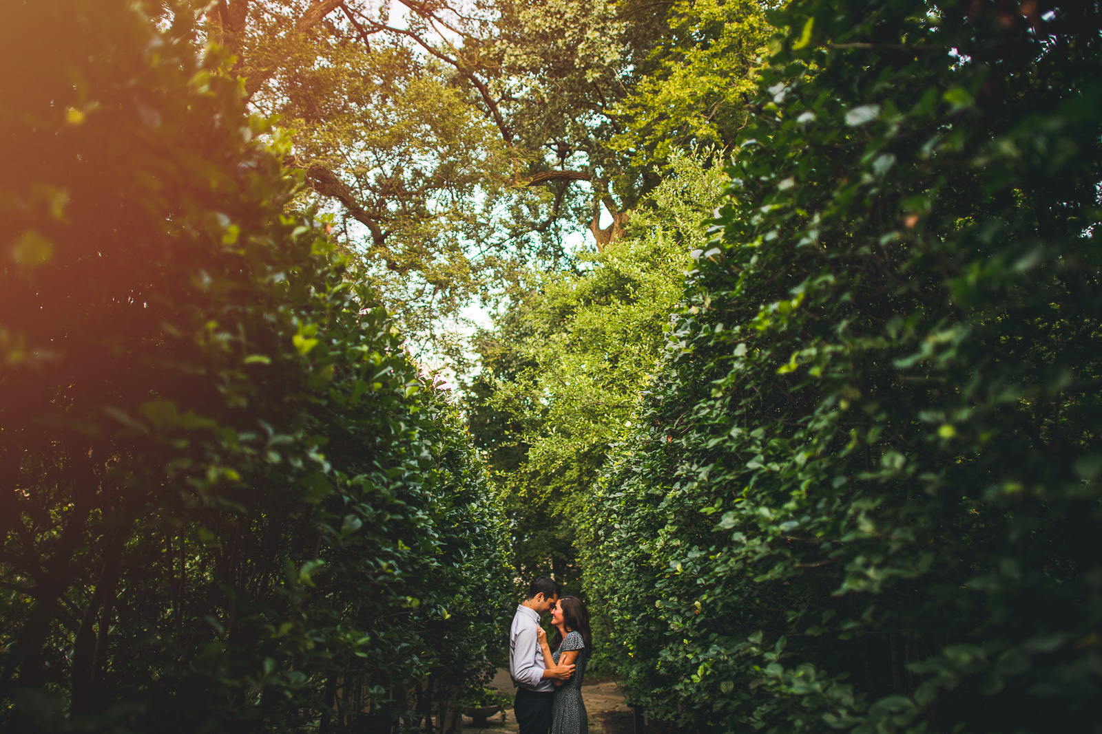 12 northwestern engagement garden photos - Northwestern Engagement Photos // Emma + Francesco