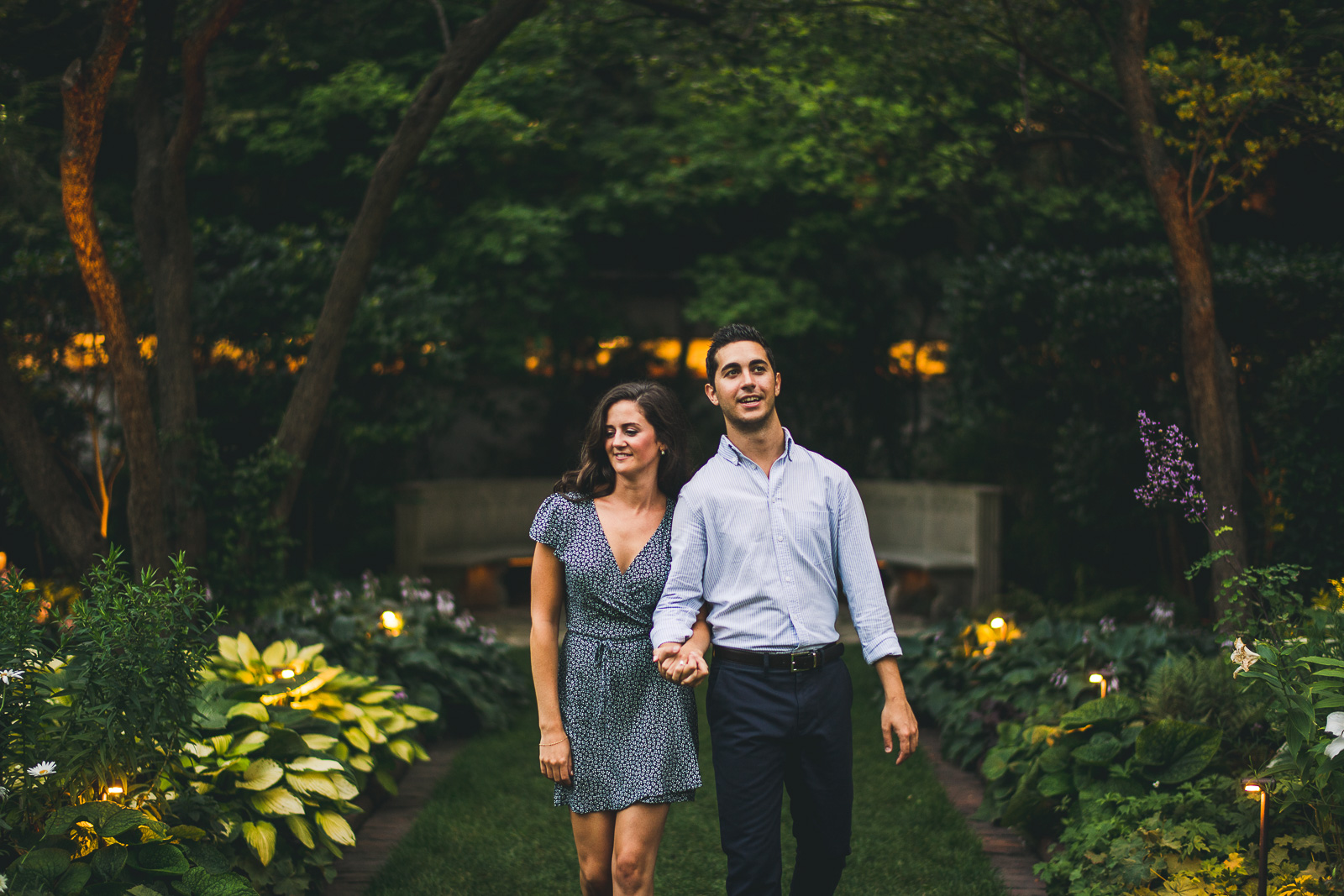 18 garden northwestern engagement pictures - Northwestern Engagement Photos // Emma + Francesco
