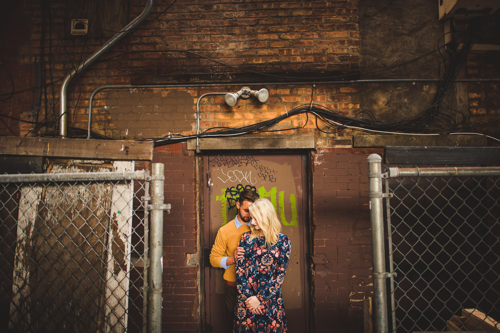 01 wicker park engagement session - Wes Anderson Inspired Engagement Session in Wicker Park // Kelsey + Mark