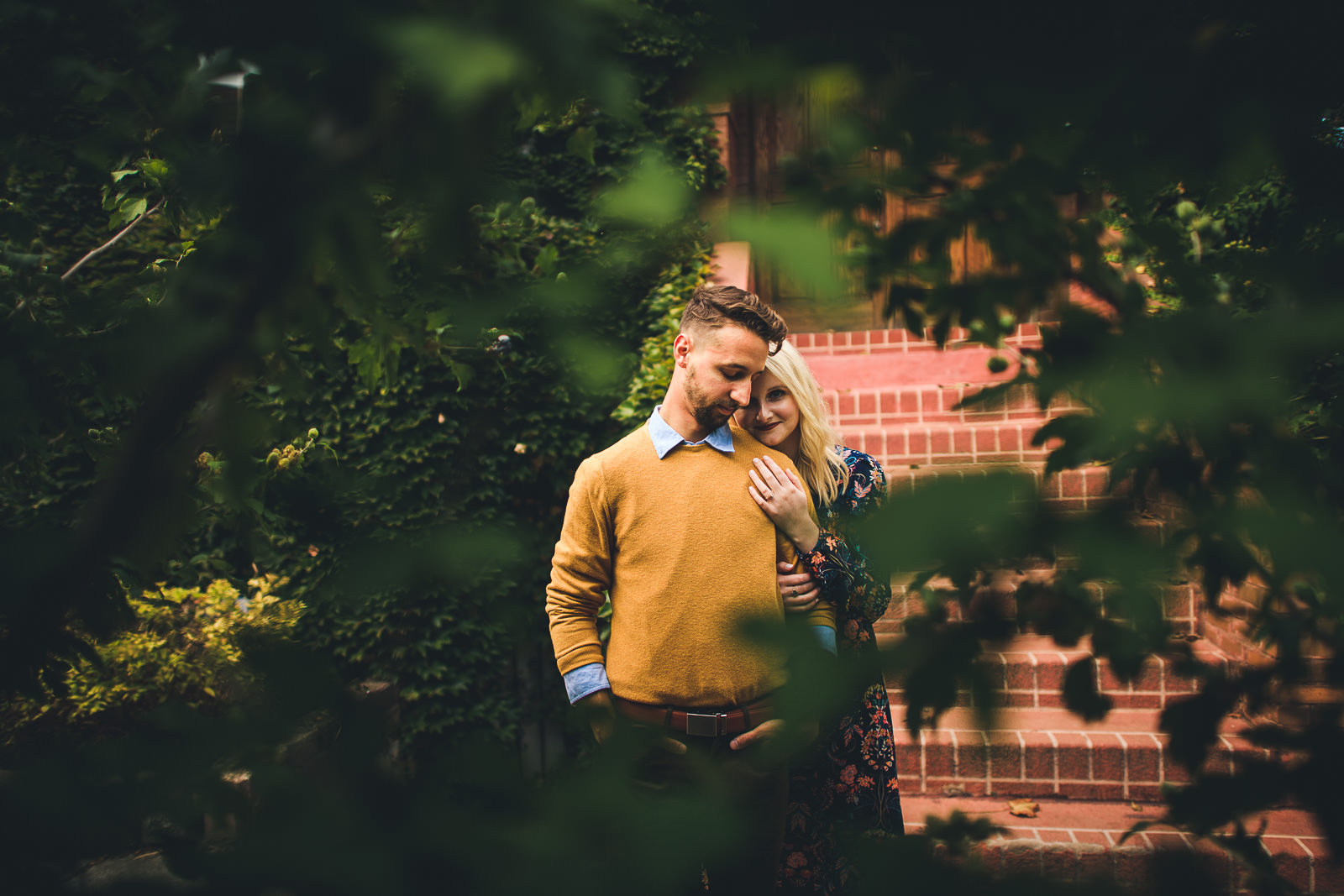 05 wes anderson engagement session - Wes Anderson Inspired Engagement Session in Wicker Park // Kelsey + Mark