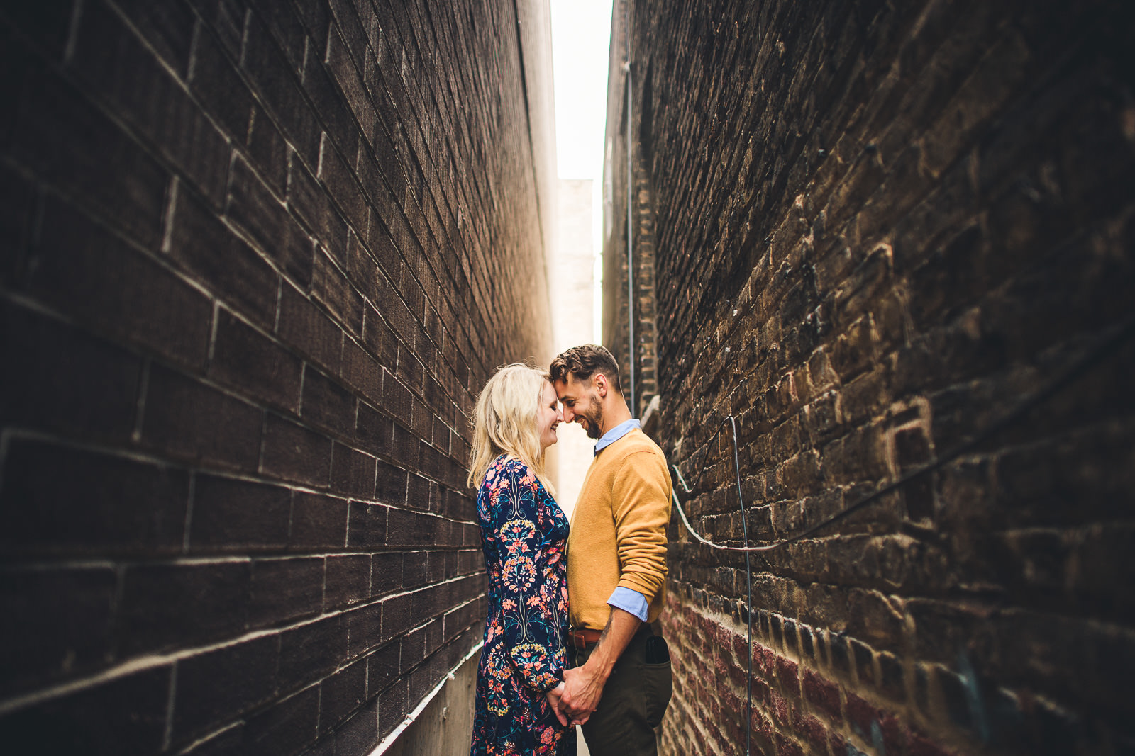07 wes anderson inspired engagement session - Wes Anderson Inspired Engagement Session in Wicker Park // Kelsey + Mark
