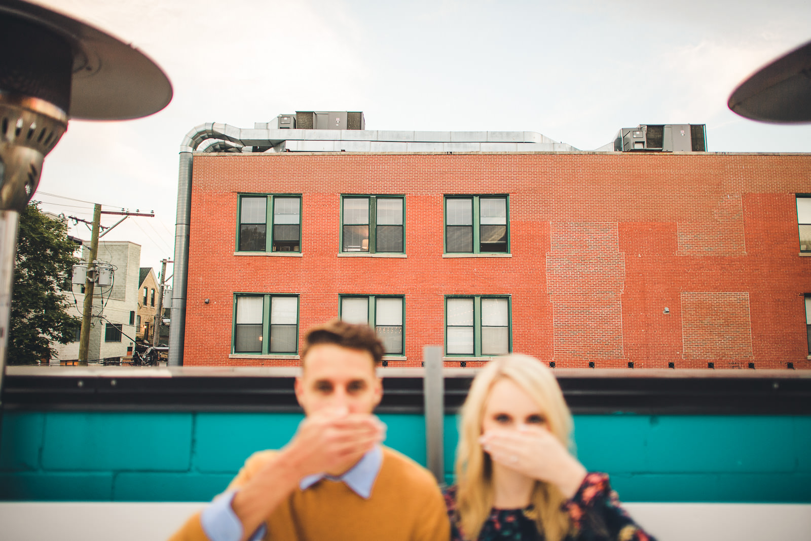 11 wicker park engagement photos - Wes Anderson Inspired Engagement Session in Wicker Park // Kelsey + Mark