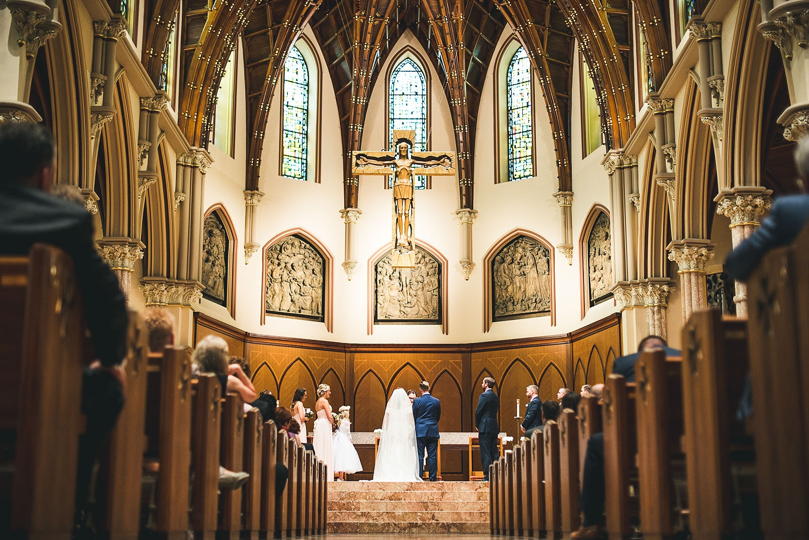 32 amazing church wedding photos - Hilton Chicago Wedding Photographer // Sarah + Aaron