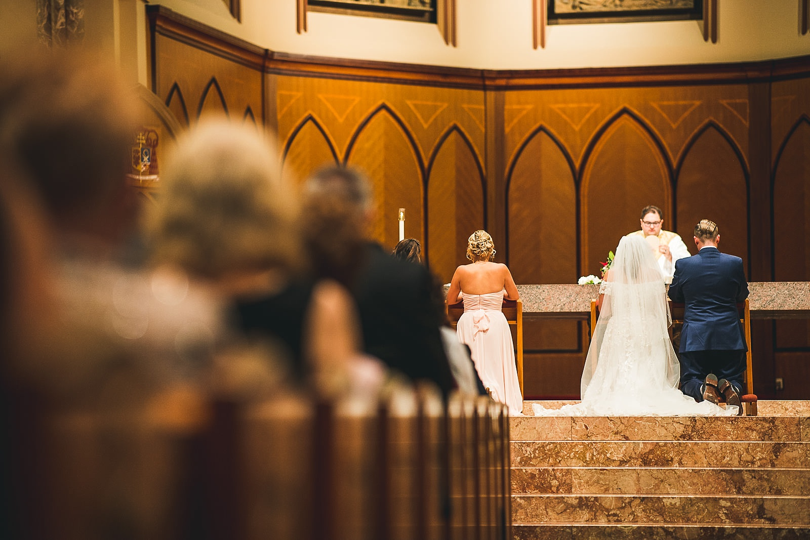 35 creative church wedding photographers - Hilton Chicago Wedding Photographer // Sarah + Aaron