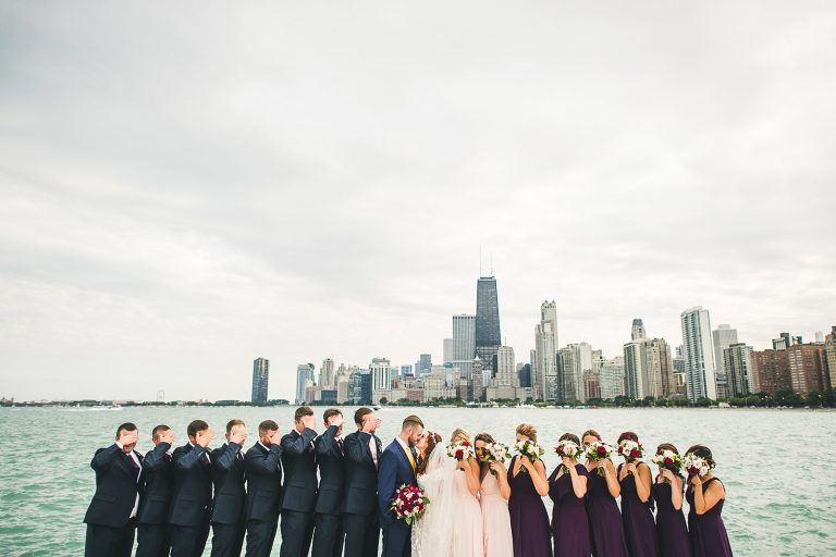 44 big bridal party photo
