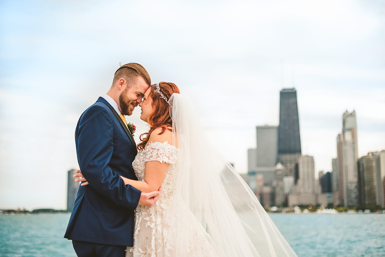 45 wedding portraits on the lakefront - Hilton Chicago Wedding Photographer // Sarah + Aaron