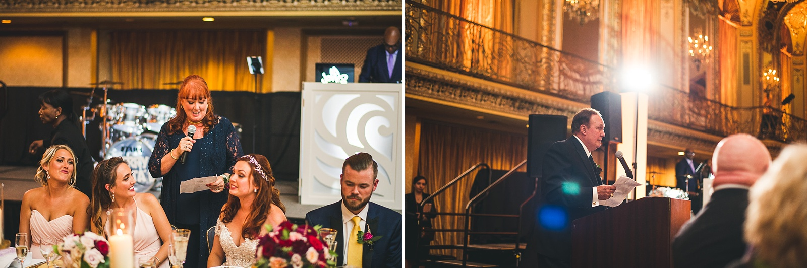 61 speeches during wedding - Hilton Chicago Wedding Photographer // Sarah + Aaron