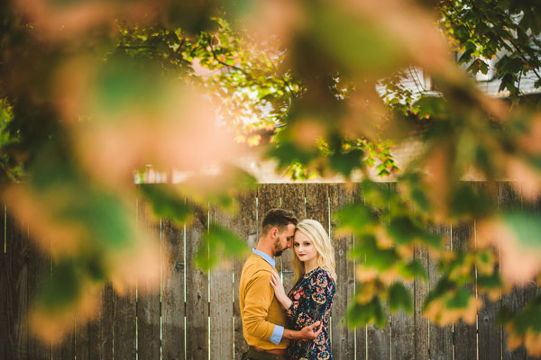 Wes Anderson Inspired Engagement Session in Wicker Park // Kelsey + Mark