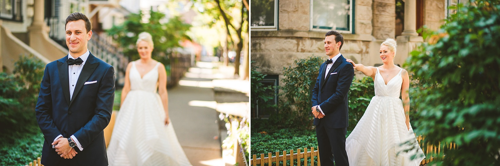 14 chicago street first look inspiration - Morgan's on Fulton Wedding Photos // Jessica + Bill