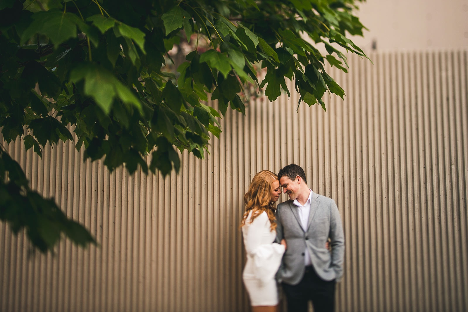 21 chicago engagement ideas for photos - Rooftop Chicago Engagement Session // Aubyn + Danny