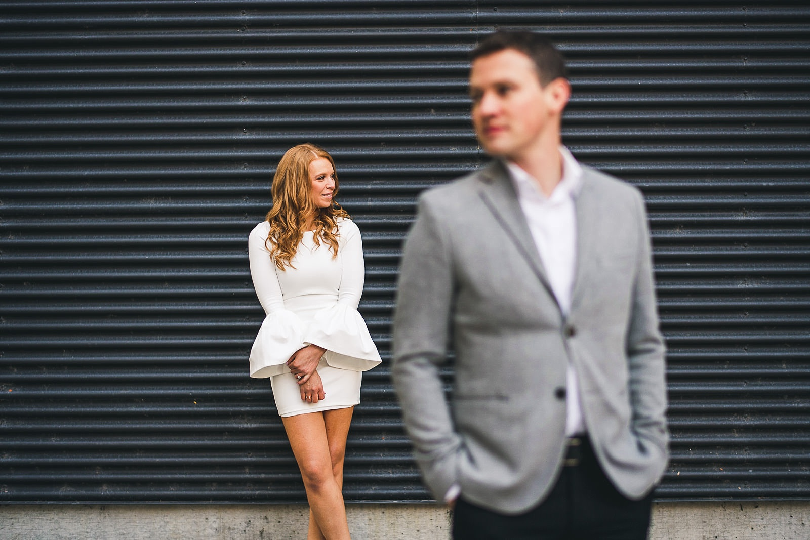 22 chicago locaitons for engagement photos - Rooftop Chicago Engagement Session // Aubyn + Danny