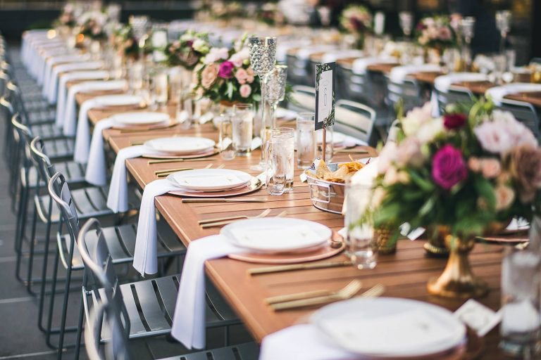 48 beautiful wedding table decor inspiration
