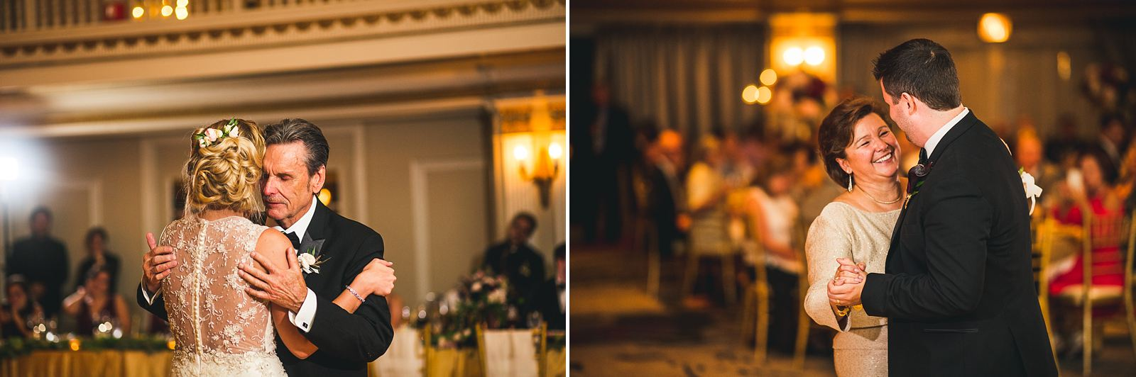 59 first dances with parents photos - Chicago Drake Hotel Wedding // Corie + Jordan