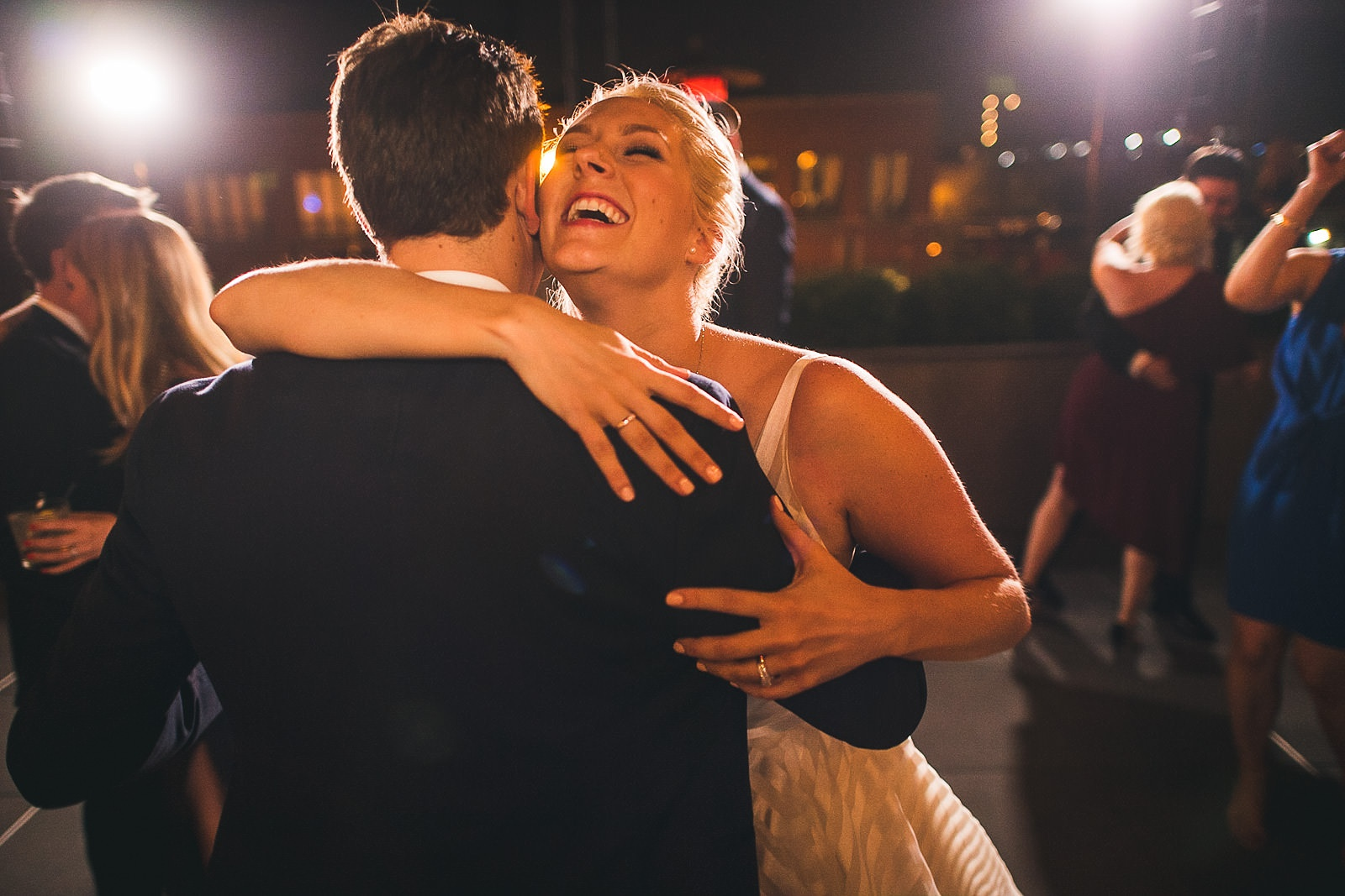 64 wedding dances under the stars - Morgan's on Fulton Wedding Photos // Jessica + Bill