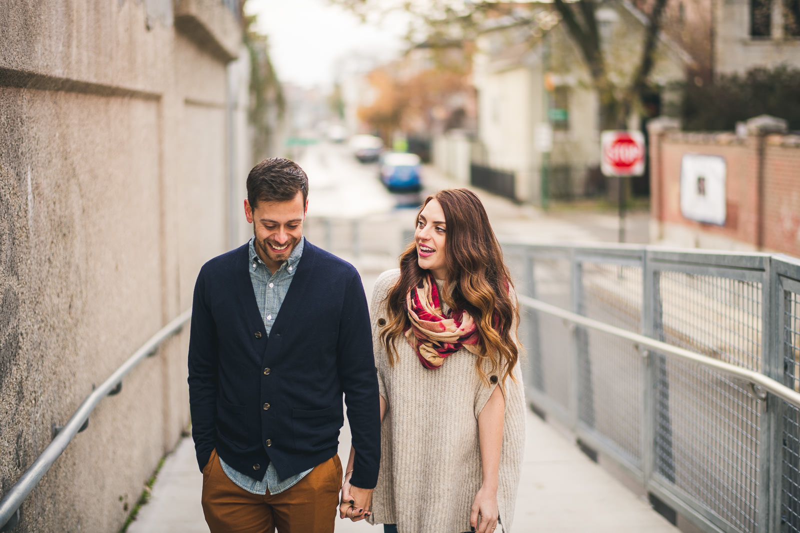08 606 trail engagement photos - Bucktown Chicago Engagement Photos // Pearl + Ken