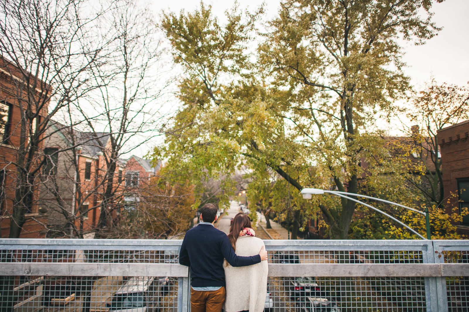 09 best 606 trail engagement photography - Bucktown Chicago Engagement Photos // Pearl + Ken