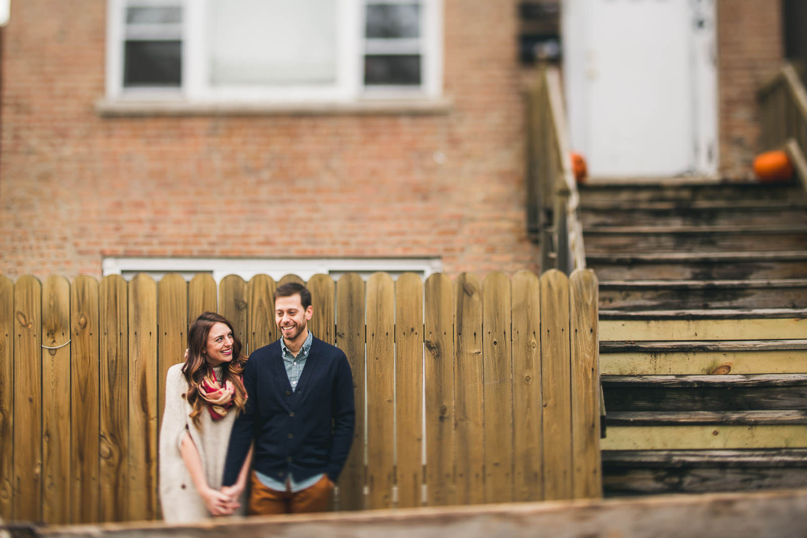 1 bucktown engagement photos - Bucktown Chicago Engagement Photos // Pearl + Ken