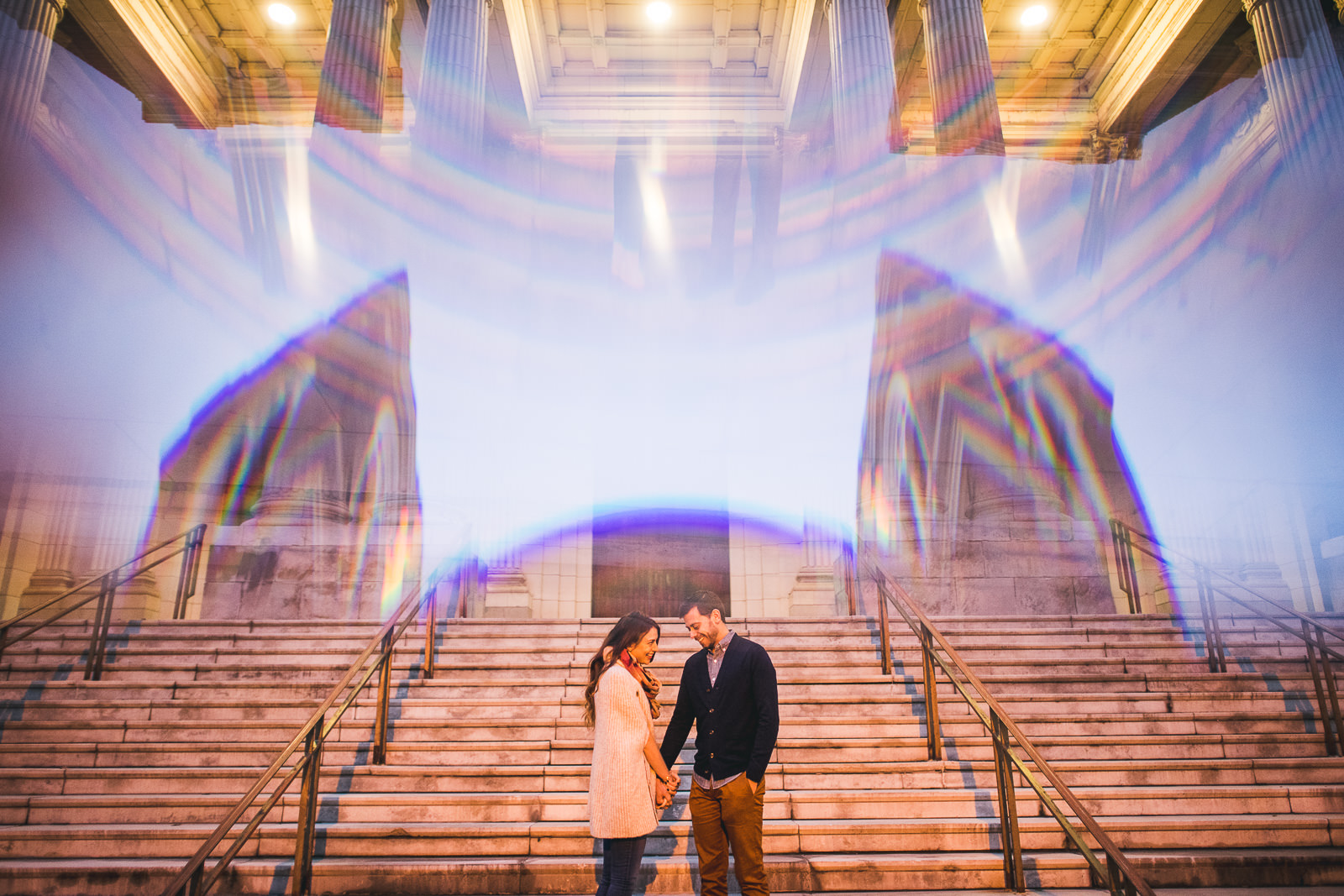 16 engagement photo inspiration - Bucktown Chicago Engagement Photos // Pearl + Ken