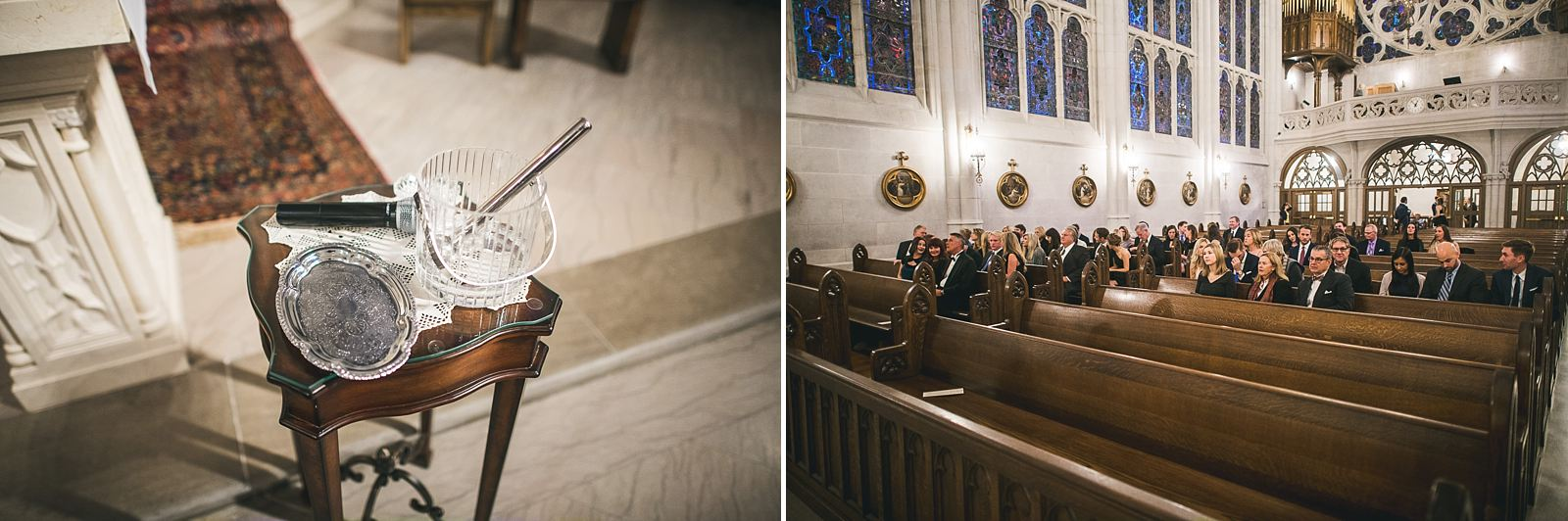 19 st james chapel chicago - Ivy Room Wedding // Audrey + Tyler