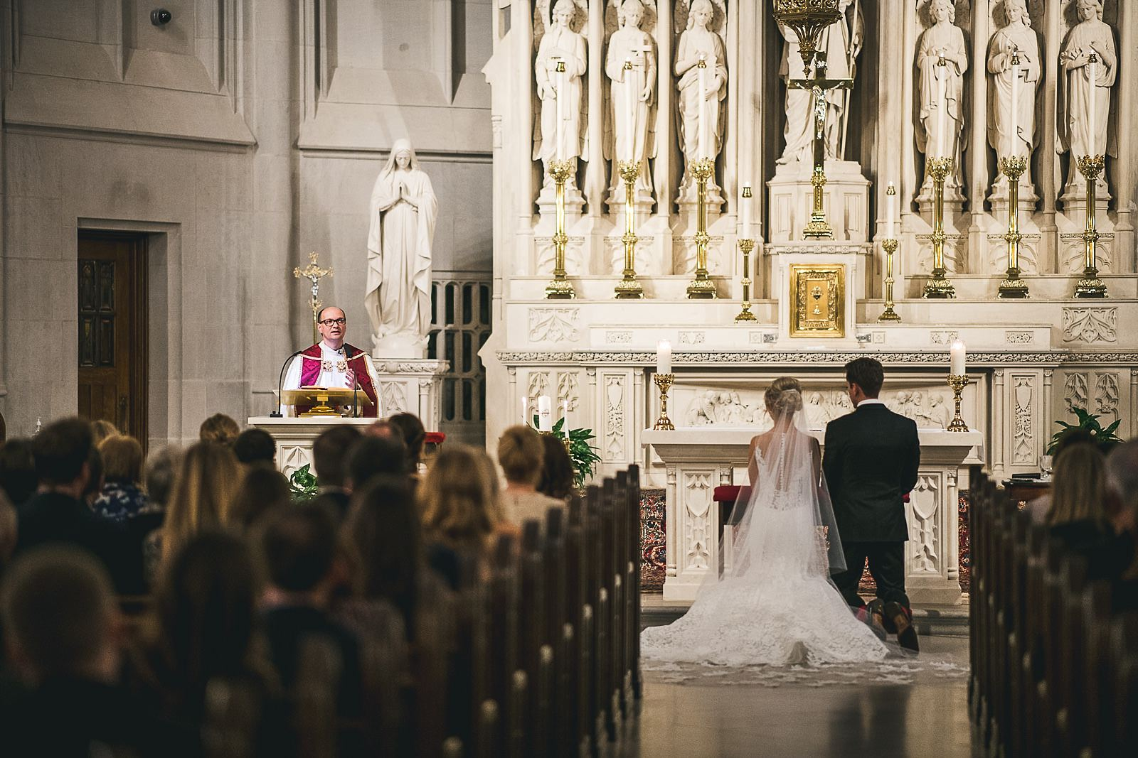 25 priest - Ivy Room Wedding // Audrey + Tyler
