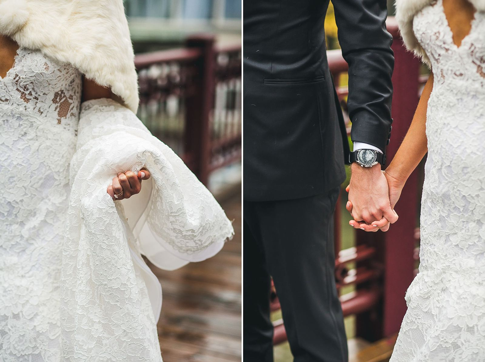 30 on the chicago bridge - Ivy Room Wedding // Audrey + Tyler