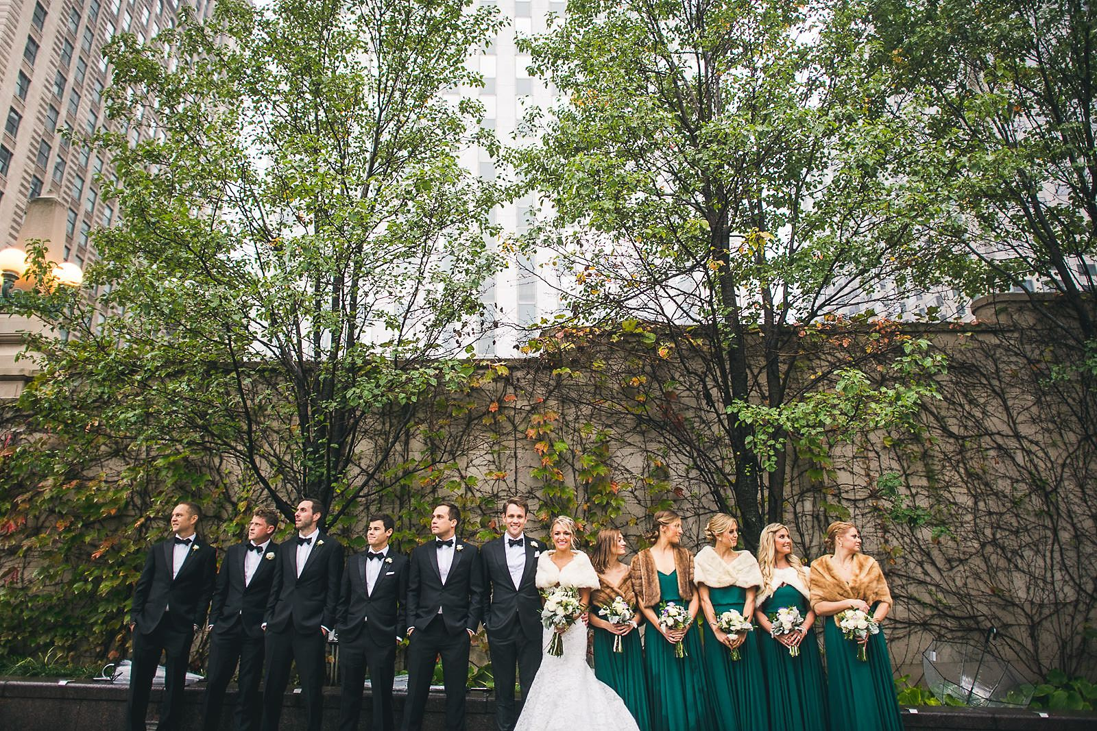 34 full bridal party wedding photos - Ivy Room Wedding // Audrey + Tyler