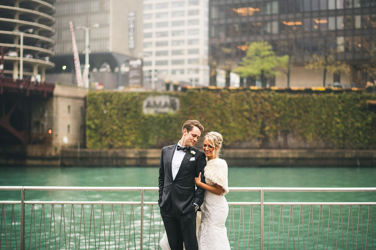 41 chicago riverwalk wedding photos - Ivy Room Wedding // Audrey + Tyler