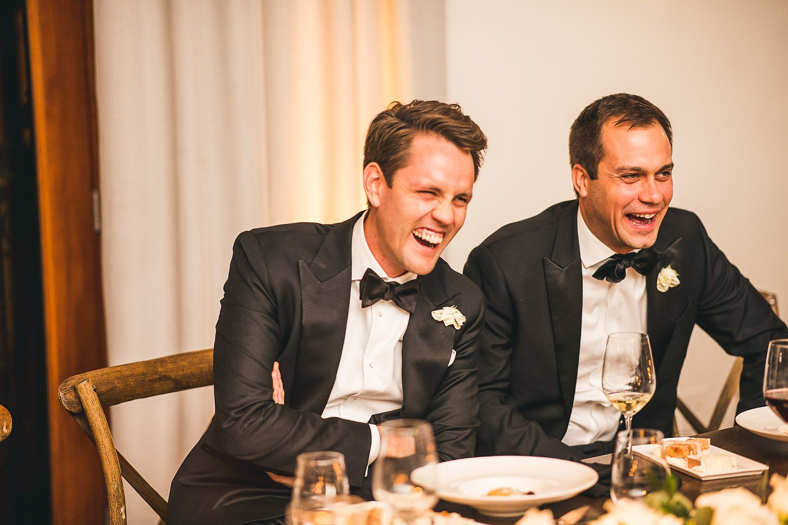 53 happy groom laughing - Ivy Room Wedding // Audrey + Tyler
