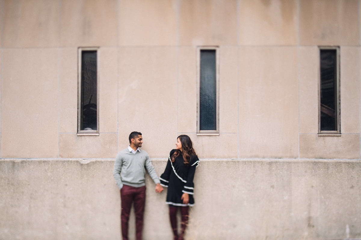 03 best winter engagement photos - Winter Engagement Session in Chicago // Steve + Jasa