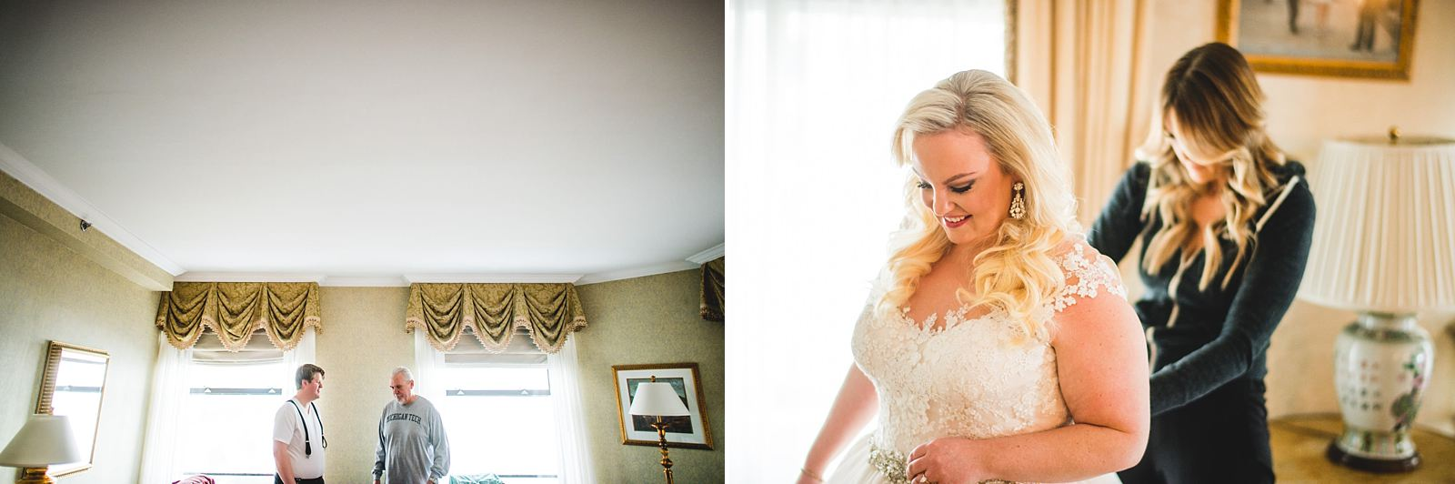 05 getting ready at the drake - Drake Chicago Luxury Wedding Photography // Kate + Royce
