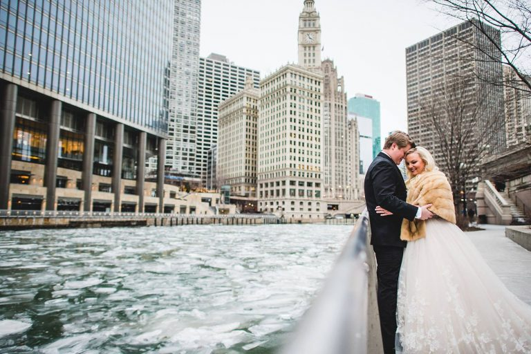 10 chicago winter wedding photography