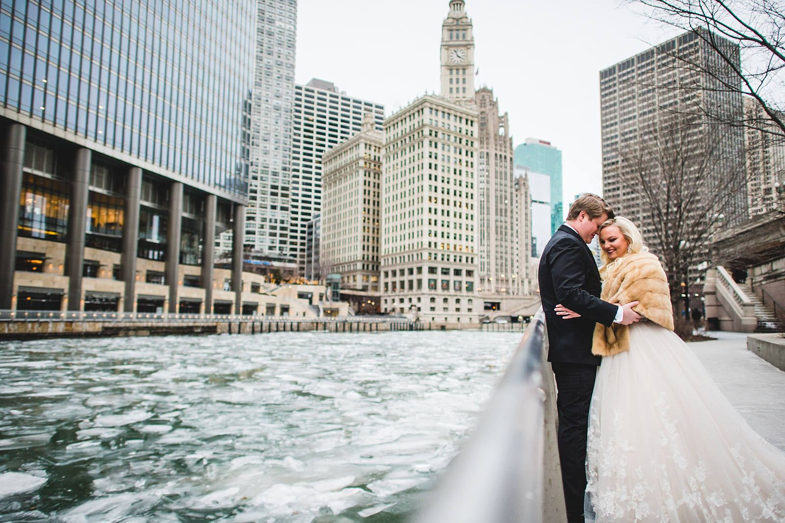 10 chicago winter wedding photography - Drake Chicago Luxury Wedding Photography // Kate + Royce
