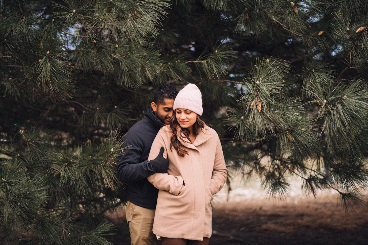 11 best winter engagement photos in chicago - Winter Engagement Session in Chicago // Steve + Jasa