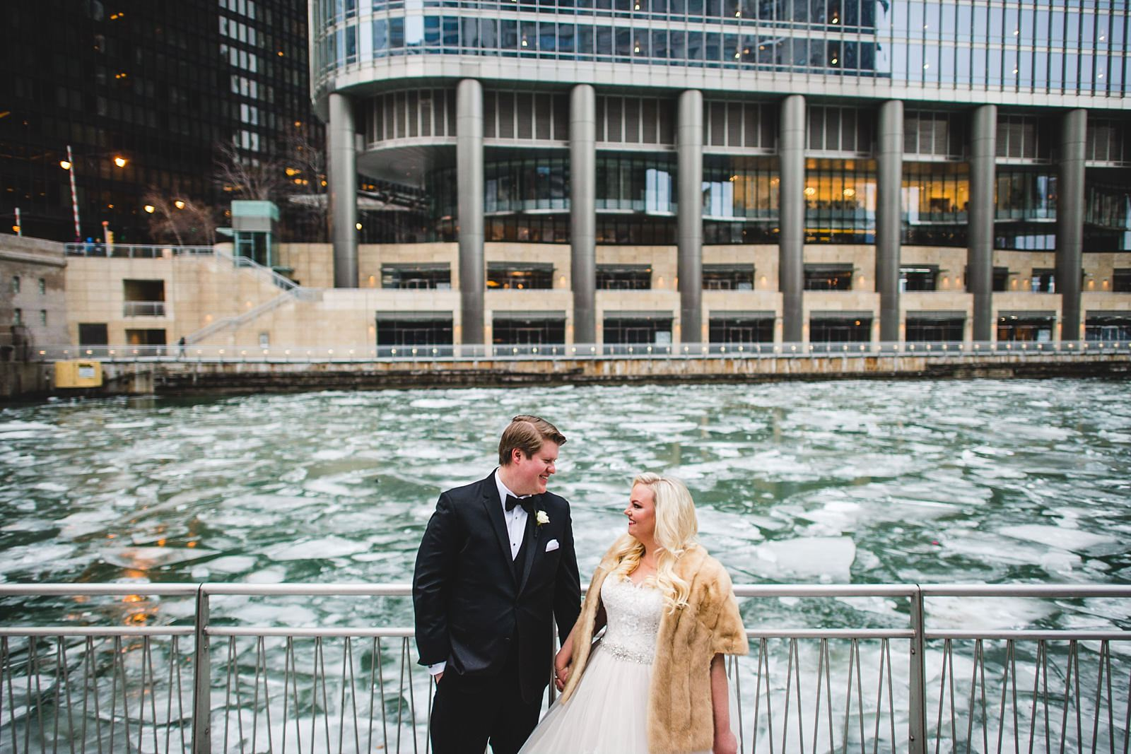 13 winter chicago wedding photos - Drake Chicago Luxury Wedding Photography // Kate + Royce