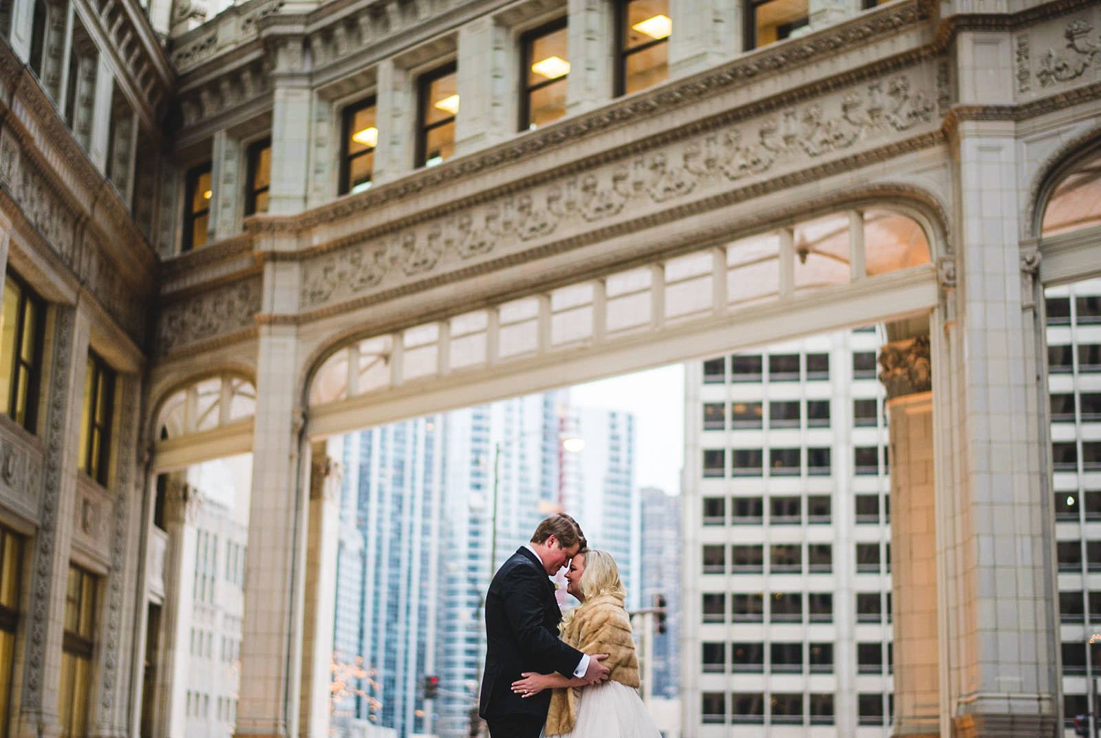 16 wrigly building wedding photogarphs - Drake Chicago Luxury Wedding Photography // Kate + Royce
