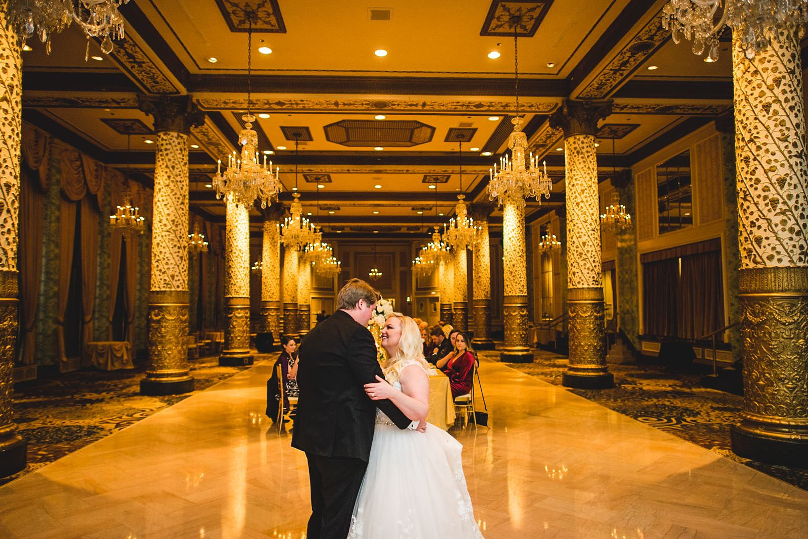 30 first dances at the drake - Drake Chicago Luxury Wedding Photography // Kate + Royce