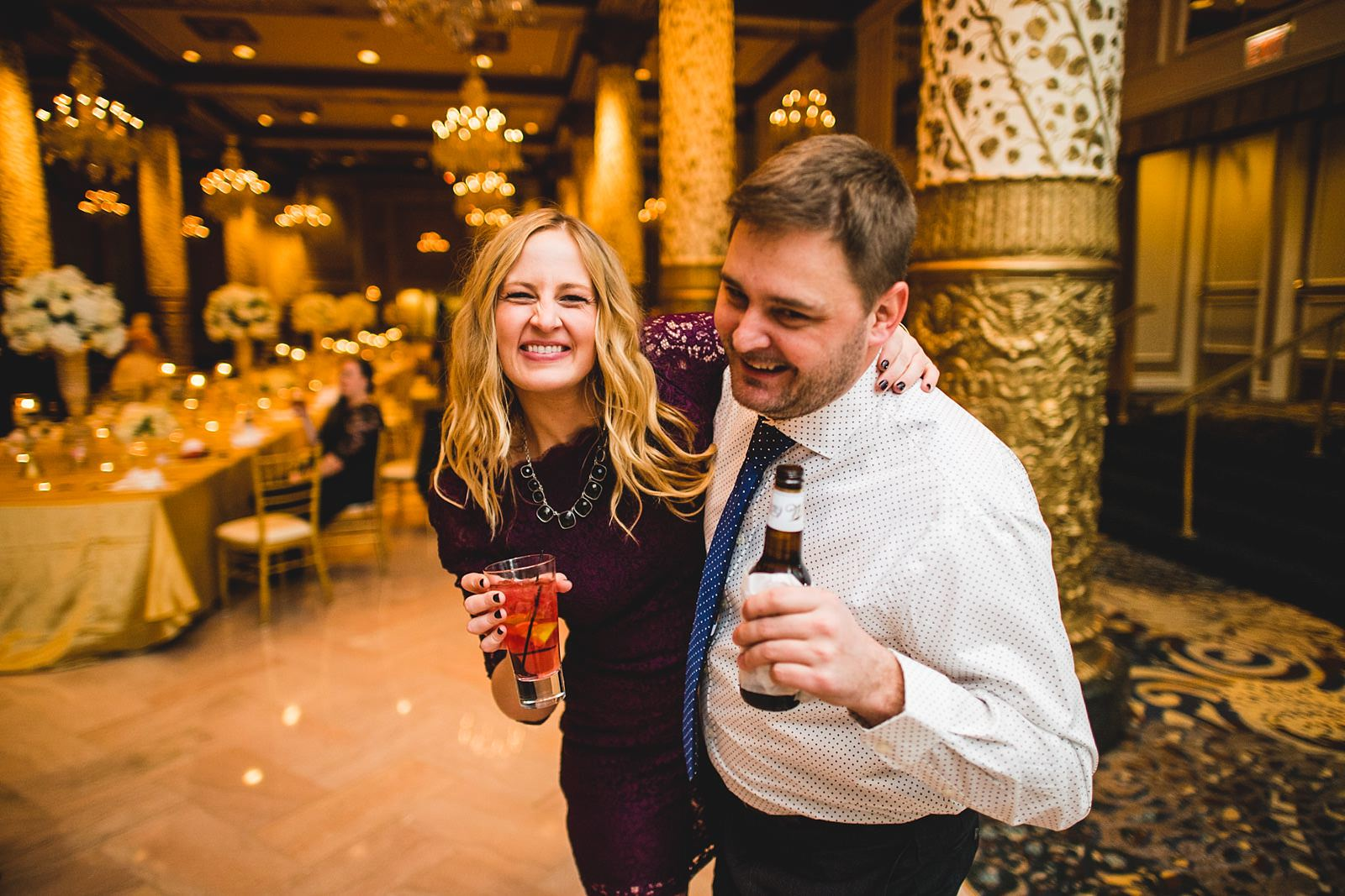 37 epic reception drake photos - Drake Chicago Luxury Wedding Photography // Kate + Royce