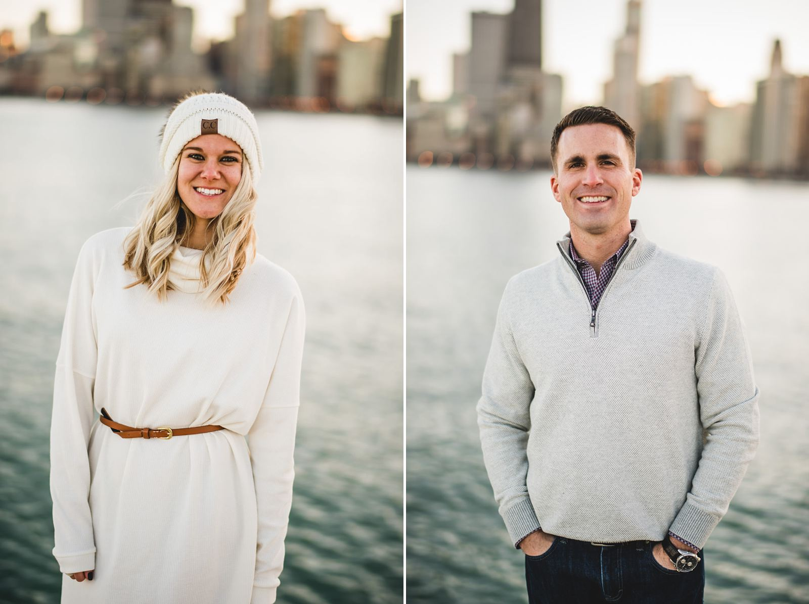 06 couple - Chicago Engagement Session // Brie + Jason