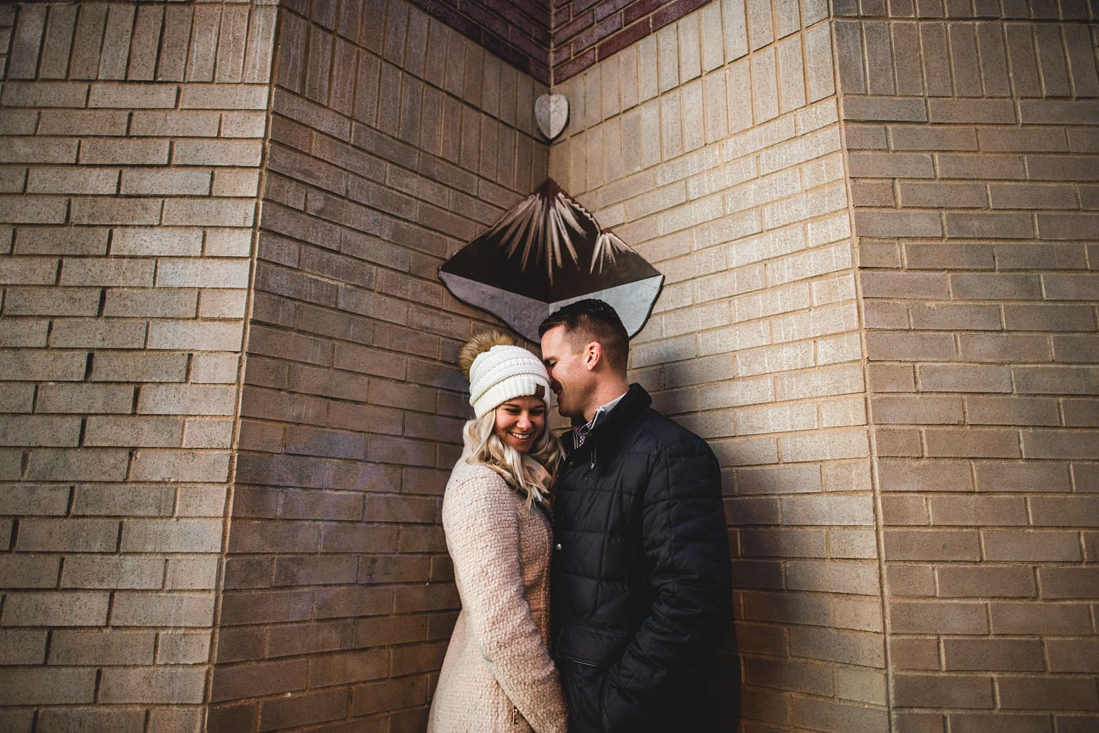 11 wicker park engagement photos - Chicago Engagement Session // Brie + Jason